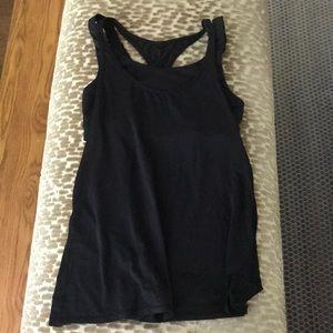 Black special lulu lemon tank top